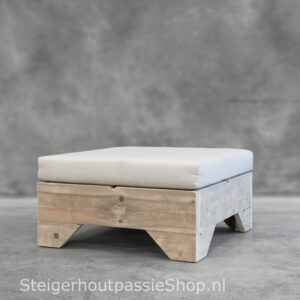Steigerhouten Hocker Flexo