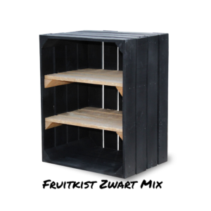 Fruitkist Zwart Mix